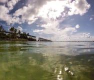 Bahia Honda, chave de FL Fotografia de Stock