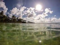 Bahia Honda, chave de FL Fotos de Stock
