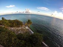 Bahia Honda, FL-Schlüssel Stockbild