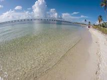 Bahia Honda FL tangent Arkivbild