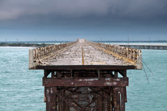 Bahia Honda rail bridge Stock Photos