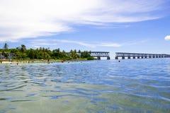 Bahia honda state park royalty free stock image