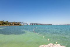 Bahia Honda State Park is a state park with an open public beach stock image