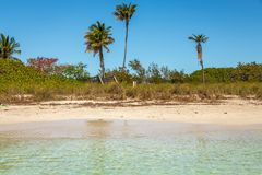 Bahia Honda State Park is a state park with an open public beach royalty free stock photo
