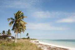 Bahia Honda wyrzucać na brzeg w Floryda kluczach Fotografia Stock