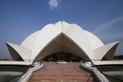 Bahia House of Worship in Delhi - India Stock Photography