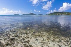 Bahia Linda d'Isla Culebra Photos stock
