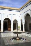 Bahia Palace Royaltyfri Fotografi