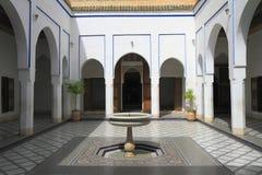 Bahia Palace Arkivfoto
