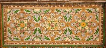 Bahia Palace detail marrakech marokko Royalty-vrije Stock Afbeeldingen