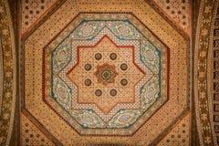 Bahia Palace. Detail.  Marrakesh . Morocco Stock Photography