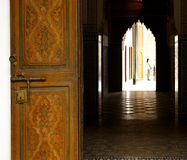 Bahia palace doorway Stock Photography