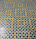 Bahia Palace floor,Marrakech Stock Image