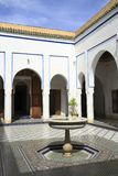 Bahia Palace. Located in Marrakech, Morocco Royalty Free Stock Photography
