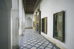 Bahia Palace Marrakech Royalty-vrije Stock Afbeeldingen