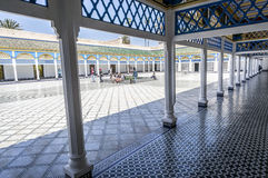 Bahia Palace in Marrakech. Inner yard of Bahia Palace in Marrakech Stock Photography