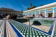 Bahia Palace Marrakesh fotografie stock libere da diritti