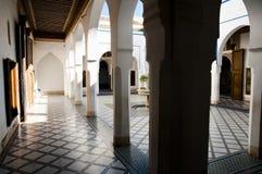 Bahia Palace - Marrakesh - Morocco. Bahia Palace in Marrakesh - Morocco Royalty Free Stock Photography
