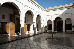 Bahia Palace - Marrakesh - Morocco. Water Fountain at Bahia Palace in Marrakesh - Morocco Royalty Free Stock Photography