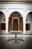 Bahia Palace in Marrakech, Morocco Royalty Free Stock Photos