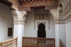 Bahia-Palast in Marrakesch Lizenzfreies Stockfoto
