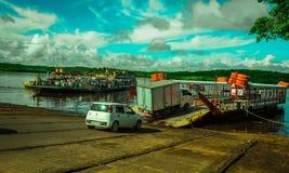 Bahia Porto Seguro Ferry Royalty Free Stock Photos