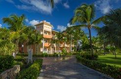 Bahia Principe Hotel Resort magnífica en Punta Cana, República Dominicana fotografía de archivo libre de regalías