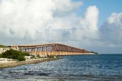 Bahia Ronda bridge on Florida Keys, USA Stock Photos