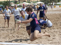 Bahia rugby touchdown Stock Images