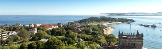 Bahia Santander Stockfoto