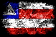 Bahia smoke flag, state of Brazil.  stock photo