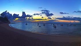 Bahia wschód słońca Obrazy Stock