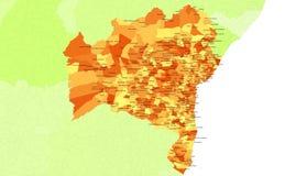 Bahia-Zustand - Brasilien Lizenzfreies Stockfoto