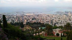 Bahim-Garten, Haifa, Israel Stockfotos