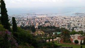 Bahim trädgård, haifa, Israel Royaltyfri Foto