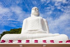 Bahirawakanda Vihara菩萨雕象 图库摄影