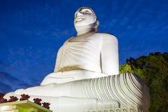 Bahirawakanda Vihara菩萨雕象 免版税库存图片