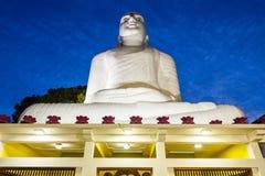 Bahirawakanda Vihara菩萨雕象 库存照片