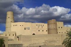 Bahla fort royaltyfri bild