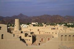 Bahla fort arkivbilder