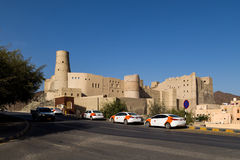Bahla Fort. Historic fortresses situated at the foot of the Djebel Akhdar highlands in Oman Royalty Free Stock Photo