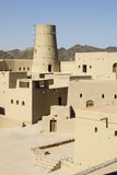 Bahla fort i Oman Royaltyfri Fotografi
