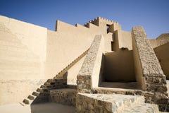 Bahla fort i Oman Arkivbilder