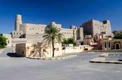Bahla Fort. The largest fort in Sultanate of Oman Royalty Free Stock Photography