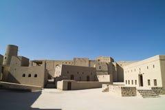Bahla fort, Oman fotografia royalty free