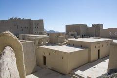 Bahla fort Oman Royaltyfri Bild