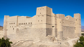Bahla. Fort, Oman, Arabic Peninsula Royalty Free Stock Photography