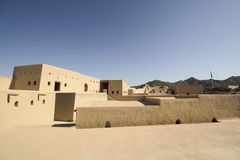 Bahla Fort in Oman Stock Image