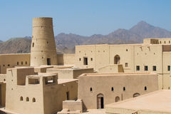 Bahla Fort, Oman Stock Photos