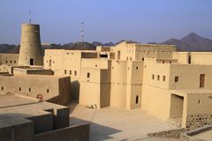 Bahla Fort royalty free stock photos